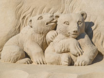 Gemaakt van zand Stock Afbeeldingen
