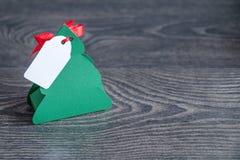 Gemaakte kerstboom royalty-vrije stock afbeeldingen