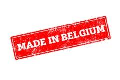 Gemacht in Belgien Lizenzfreies Stockfoto