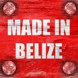 Gemacht in Belize Lizenzfreie Stockfotos