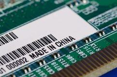 Gemacht in China Lizenzfreie Stockfotografie