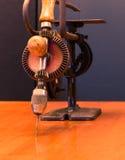 Gemacht in den USA-Weinlese-Werkzeugen Stockfoto