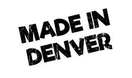 Gemacht in Denver-Stempel Lizenzfreie Stockfotos