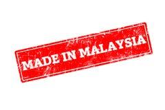 Gemacht in Malaysia Lizenzfreies Stockfoto