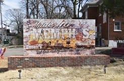 Gemacht in Memphis Choates Heating und in Wechselstrom Memphis, TN lizenzfreies stockbild