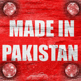 Gemacht in Pakistan Lizenzfreie Stockfotografie