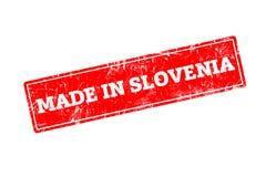GEMACHT IN SLOWENIEN Lizenzfreie Stockbilder