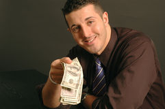 Gemakkelijk geld 2469 Stock Foto