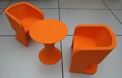 Gemakkelijk-stoelen royalty-vrije stock afbeeldingen