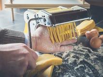 Gemakkelijke eigengemaakte noodels stock fotografie
