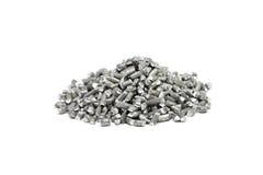 Gemalen aluminiumdraad Stock Fotografie
