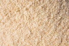 Gemalen wit zout stock afbeeldingen