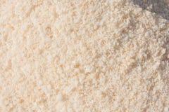 Gemalen wit zout royalty-vrije stock afbeeldingen