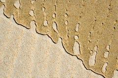 Gemalt durch das Meer Stockbilder