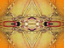 Gemalte abstrakte Beschaffenheit Lizenzfreies Stockbild