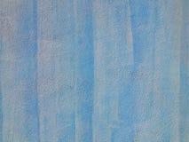 Gemalte abstrakte blaue Hintergrundwandbeschaffenheit Lizenzfreies Stockbild
