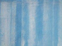 Gemalte abstrakte blaue Hintergrundwandbeschaffenheit Stockfotos