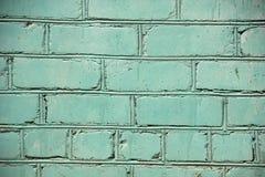 Gemalte alte Backsteinmauer, Hintergrund Lizenzfreie Stockbilder