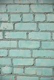 Gemalte alte Backsteinmauer, Hintergrund Lizenzfreie Stockfotografie
