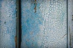 Gemalte alte hölzerne Wand Stockfotografie