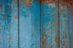 Gemalte alte hölzerne Wand Stockfotos