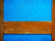 Gemalte alte hölzerne Wand Lizenzfreies Stockbild