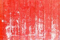 Gemalte alte hölzerne Wand Roter Hintergrund stockfoto