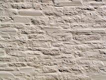 Gemalte alte Steinwand Lizenzfreies Stockbild