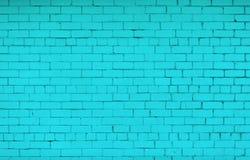 Gemalte Backsteinmauer lizenzfreie stockfotos