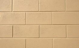 Gemalte Block-Wand Lizenzfreies Stockfoto