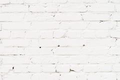 Gemalte der Stadt alte, vergipste Backsteinmauer, vorbereitet für das Zeichnen von kreativen Graffiti Für Hintergründe und Hinter Lizenzfreie Stockbilder