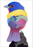 Gemalte Flagge Stockbild