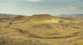 Gemalte Hügel Lizenzfreie Stockbilder