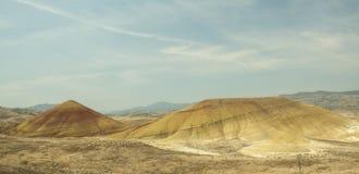 Gemalte Hügel Stockfotografie