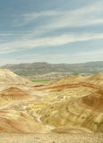 Gemalte Hügel Lizenzfreies Stockbild