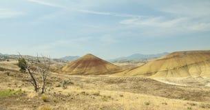Gemalte Hügel Lizenzfreie Stockfotografie