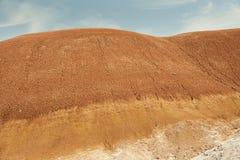 Gemalte Hügel Stockfoto
