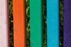 Gemalte Planken Lizenzfreie Stockfotografie
