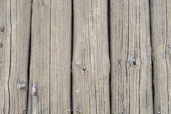 Gemalte raue rustikale alte Beige des hölzernen der Beschaffenheit vollen Musters des Rahmens vertikalen Stockfoto