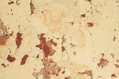Gemalte rostige Metalloberfläche lizenzfreies stockfoto