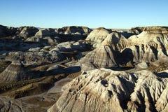 Gemalte Wüste Lizenzfreies Stockbild
