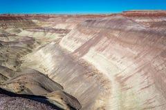 Gemalte Wüste Stockfotos