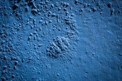 Gemalte Wand des Schmutzes Blau lizenzfreie stockfotos