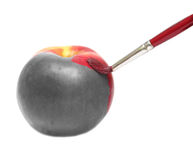 gemalter Apfel Lizenzfreie Stockfotos