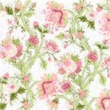 Gemalter Blumenhintergrund Stock Abbildung