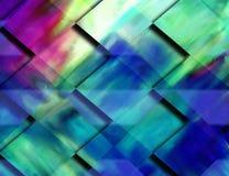 Gemalter colorfull Hintergrund stock abbildung