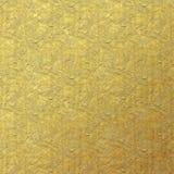 Gemalter Goldfolien-Beschaffenheits-Hintergrund lizenzfreies stockbild