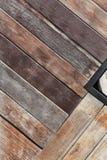 Gemalter hölzerner Plankenhintergrund Stockfotografie
