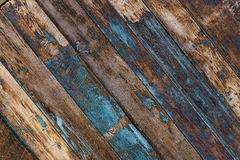 Gemalter hölzerner Plankenhintergrund Lizenzfreie Stockfotografie