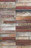 Gemalter hölzerner Plankenhintergrund Stockbilder